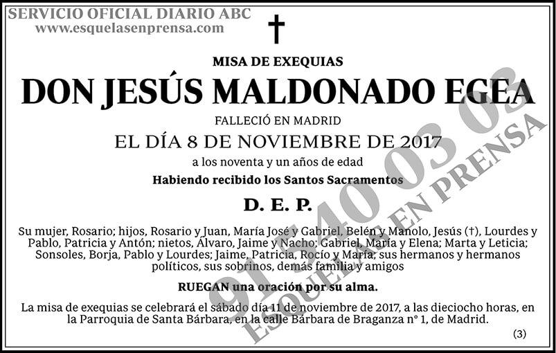 Jesús Maldonado Egea